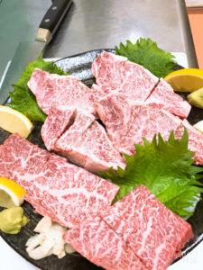 宮崎牛西森畜産の最優秀賞受賞のお肉の画像